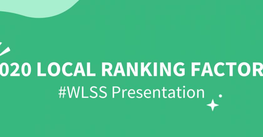 2020 Local Search Ranking Factors Presentation