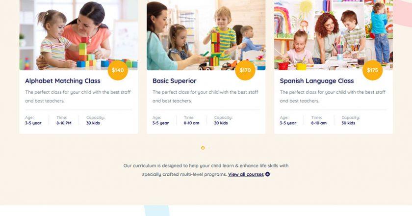 50+ Best Kids & Kindergarten WordPress Themes 2020