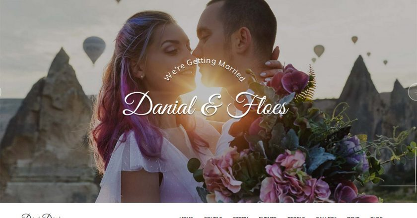 50+ Best Wedding WordPress Themes Free & Premium