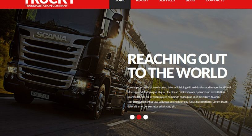 70+ Best Best Transportation WordPress Themes 2020