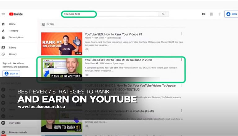 Best-Ever 7 Strategies to Rank and Earn on YouTube