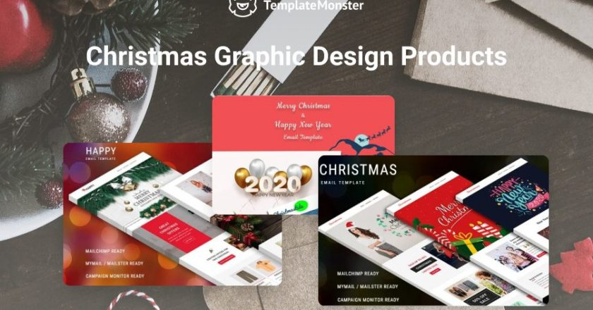 Compilation of Best Christmas Newsletter Templates that Convert