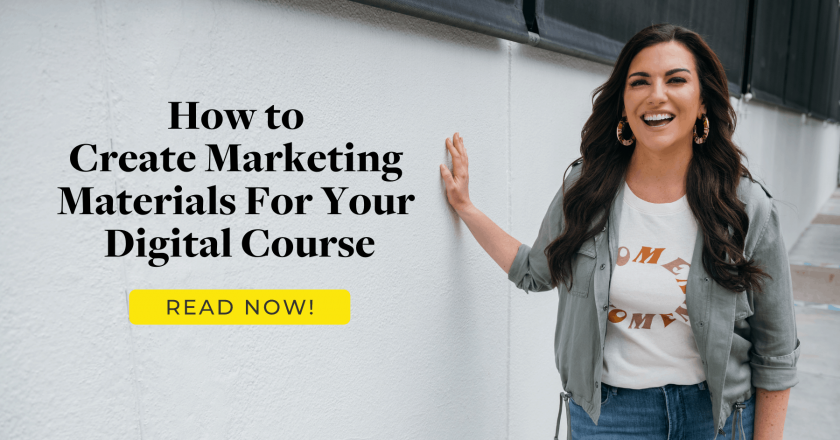 How to Create Marketing Materials For Your Digital Course – Amy Porterfield
