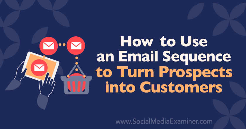 How to Use an Email Sequence to Turn Prospects Into Customers : Social Media Examiner