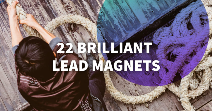 Lead Magnets to Grow Your Email List: 22 Brilliant Ideas