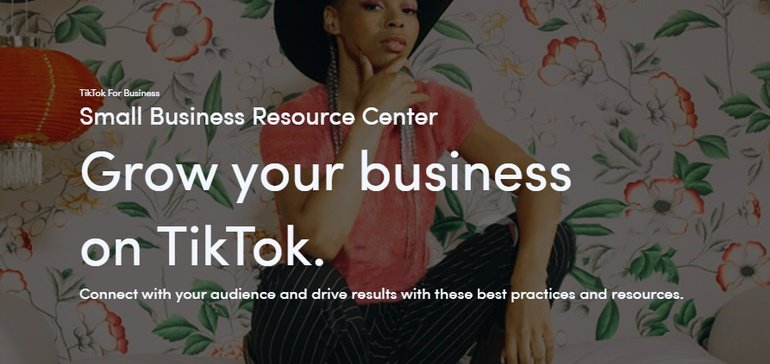 TikTok Launches New Small Business Resource Center for Marketers