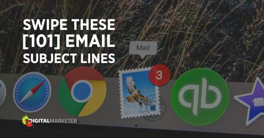 [UPDATED] 101 Best Email Subject Lines