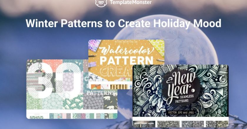 20 Printable Winter Patterns to Create Holiday Mood