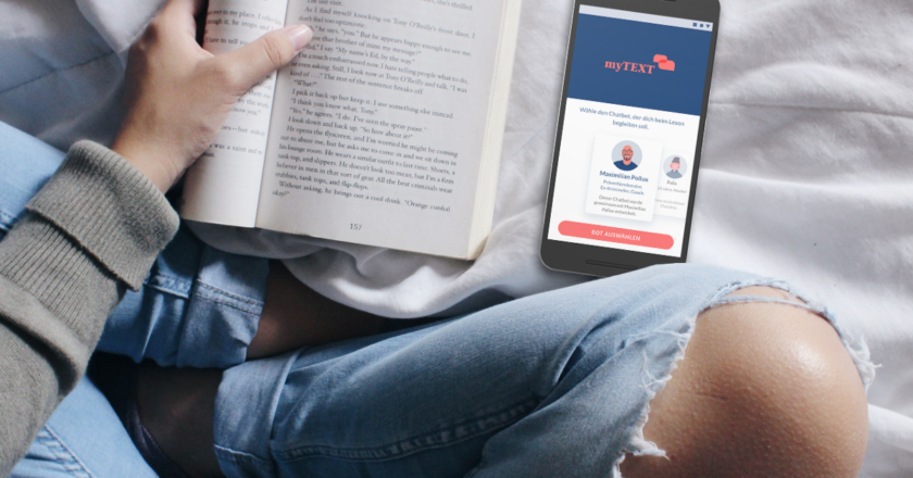 Case Study | myTEXT. App with chatbot as reading companion… | by Stefanie | Jan, 2021