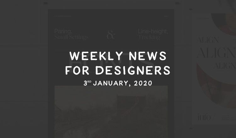 Weekly News for Designers № 573