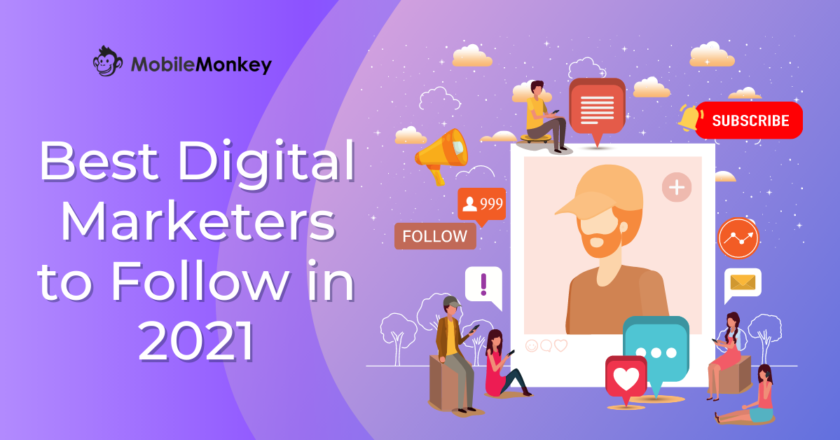 30 Best Digital Marketers to Follow in 2021