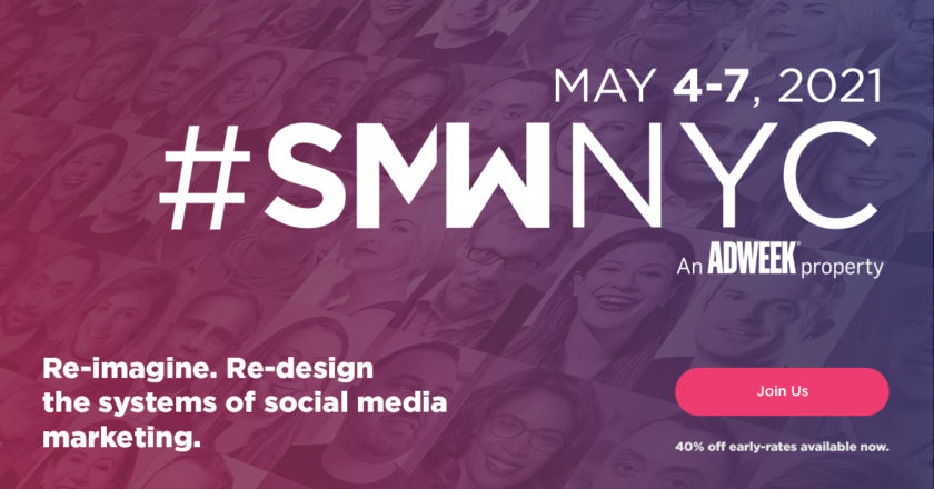 Announcing Our Initial #SMWNYC 2021 Agenda!