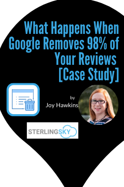 What Happens When Google Removes 98% of Your Reviews | A Case Study