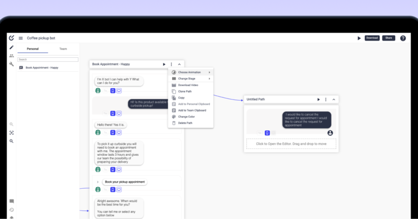 Conversational components, workflow customization and more