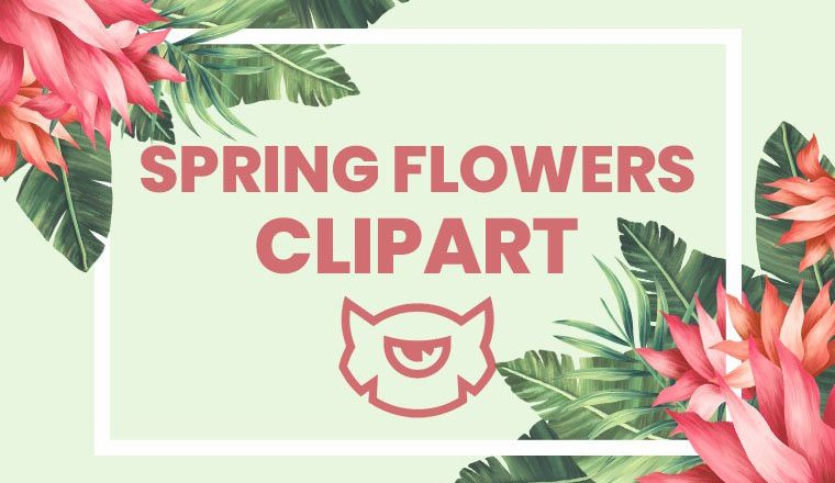 Spring Flowers Clipart Collection for Your Blooming Ideas