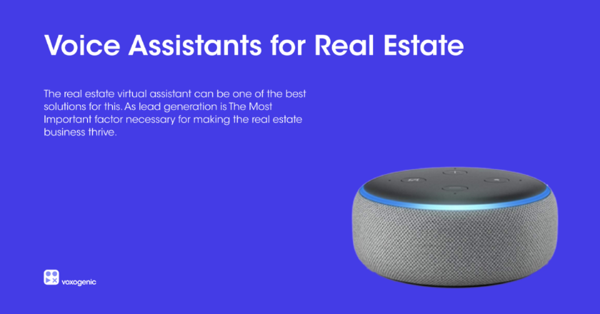 Voice Assistant Use Case Real Estate | by Tarun Dagar | Mar, 2021