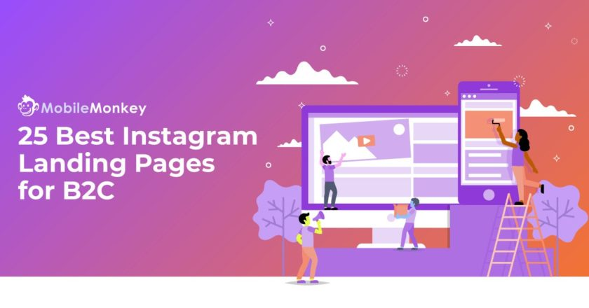 25 Best Instagram Landing Pages for B2C Advertisers and Brand Managers