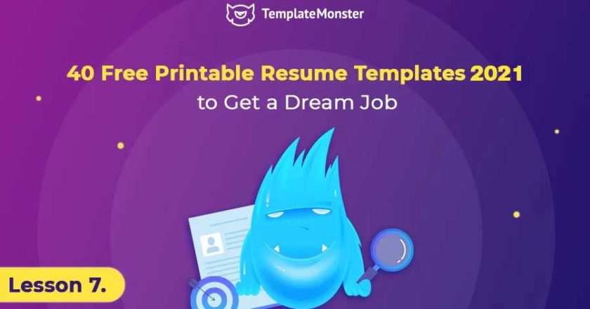 40 Best Free Printable Resume Templates