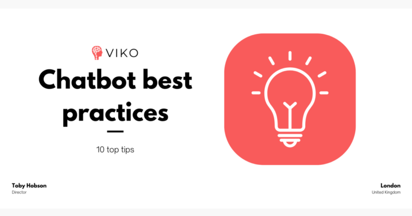 Chatbot best practices – KPIs, validation and more