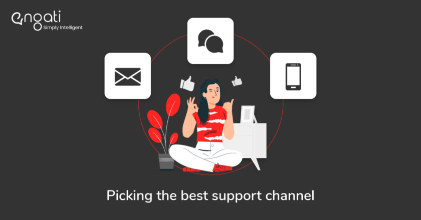 Chat v/s Email v/s Phone: The winning customer support channel | by Engati | May, 2021
