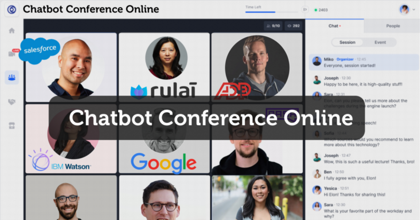 Chatbot Conference Free Tickets Give Away | by Stefan Kojouharov | May, 2021