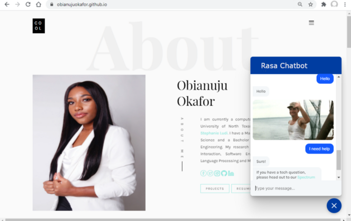 Creating a live chatbot for your website (Part 2): Modifying, training and testing your chatbot using Rasa X | by Obianuju Okafor | May, 2021
