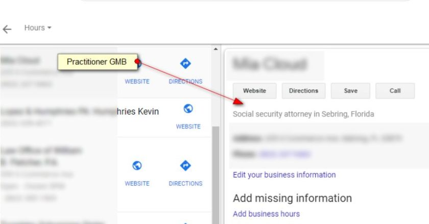 How Does Google My Business Handle Solo Practitioner Listings?