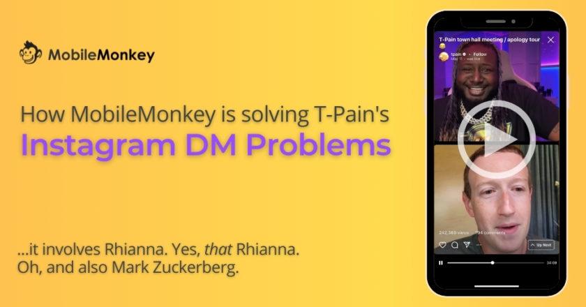 Solving T-Pain's Instagram DM Problems & Why it Involves Rhianna & Zuckerberg