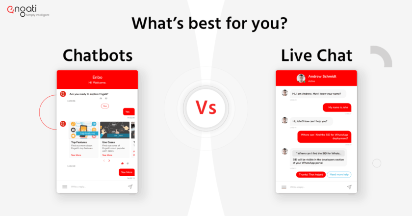Bots v/s live chat | What does your business need? | by Engati | Jun, 2021