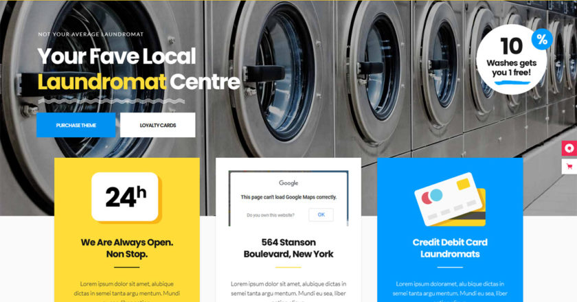 Best Laundry Service WordPress Themes 2021