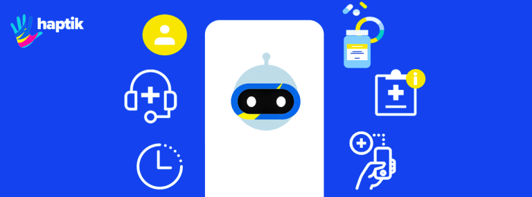 Conversational AI in Healthcare: 2 Key Use Cases | by Haptik | Jul, 2021