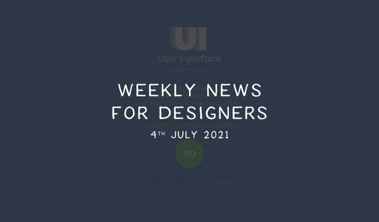 Weekly News for Designers № 599