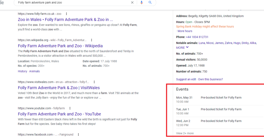 What Everybody Ought to Know About Events & Google My Business