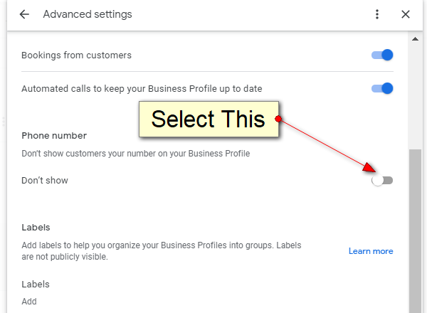 You Can Now Remove Phone Numbers From Google My Business LIstings