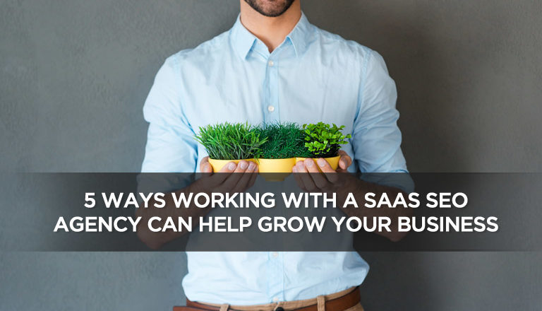 5 Ways Working With A SaaS SEO Agency Can Help Grow Your Business