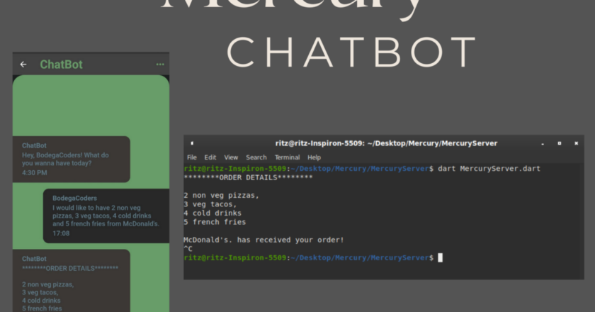 Mercury — a chatbot for Ordering Food using ALBERT & CRF | by Ritvik Sharma | Sep, 2021