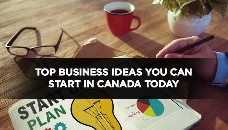 Top Business Ideas You Can Start in Canada Today
